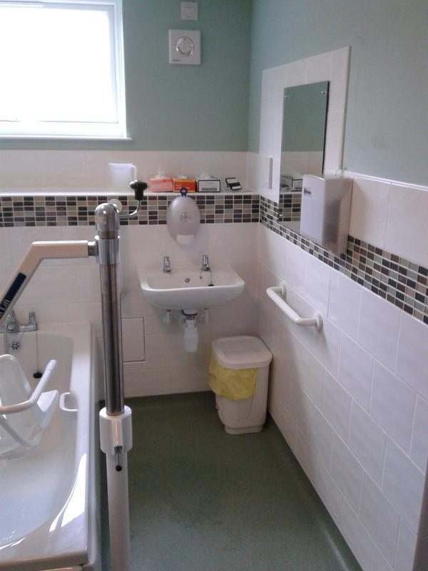 Image 34 - Bathroom in a care home