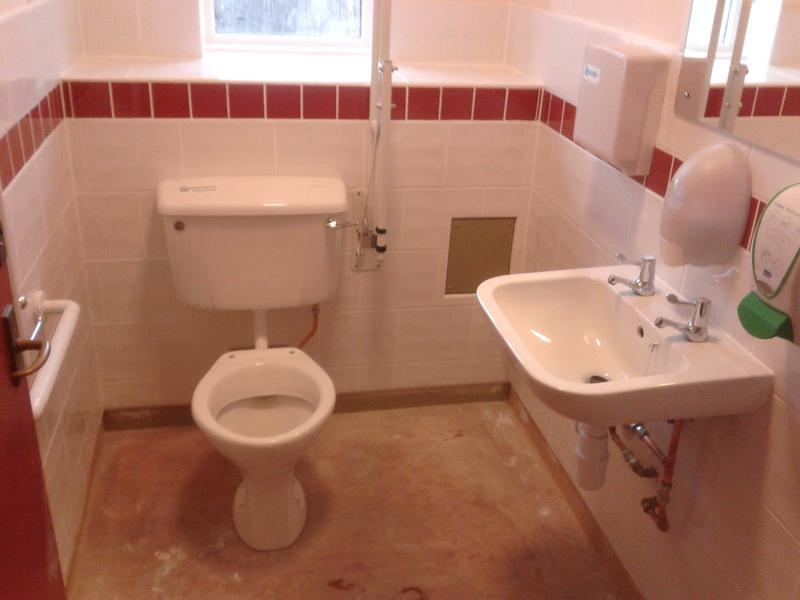 Image 33 - Toilet in a care home