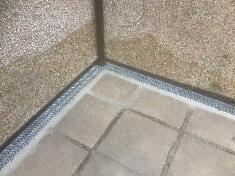 Image 2 - Newly installed Channel Drainage
