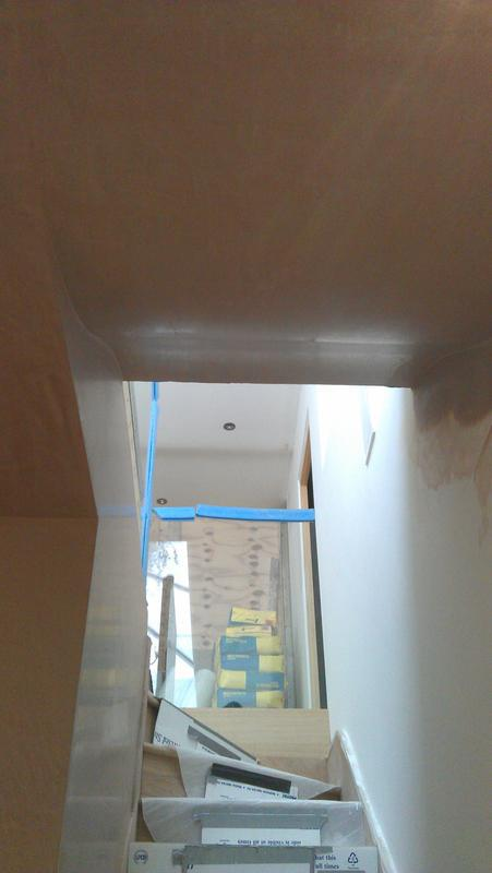 Image 30 - Stairwell ceiling  featuring double curve