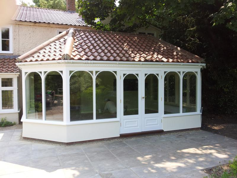 Image 1 - External of Garden Room Using Dulux Weathershield