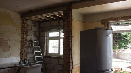 Image 31 - Large kitchen stripped and ready