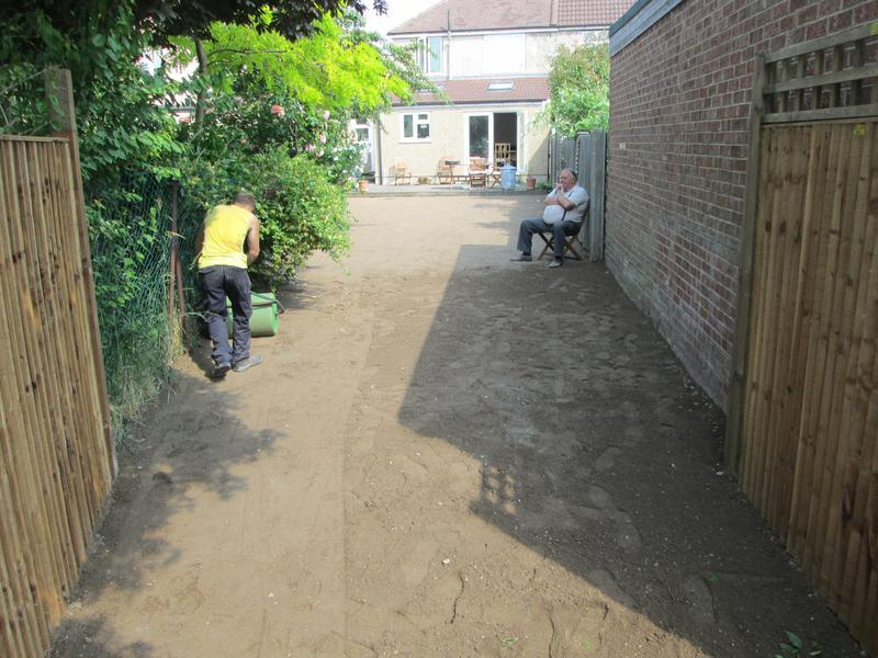 Image 85 - Prepair area for new turf
