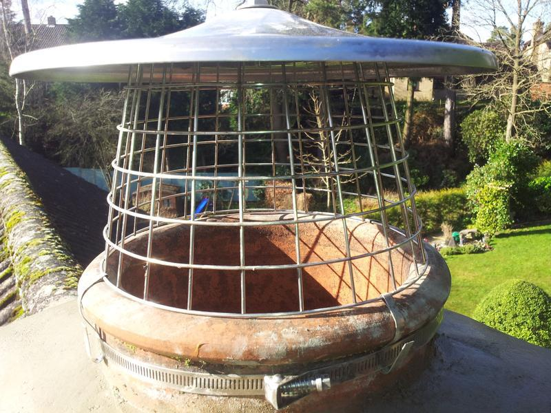 Image 4 - one of the many bird and rain guards we supply and fit