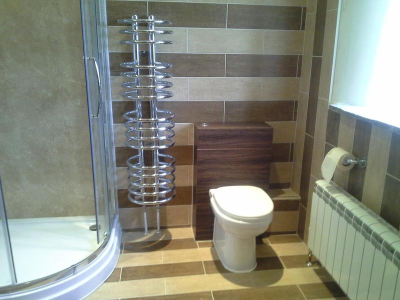 Image 35 - Complete bathroom refit including tiling, underfloor heating, shower etc