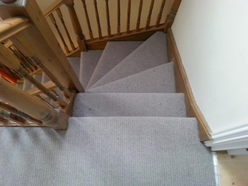 Image 2 - Stripe wool carpet