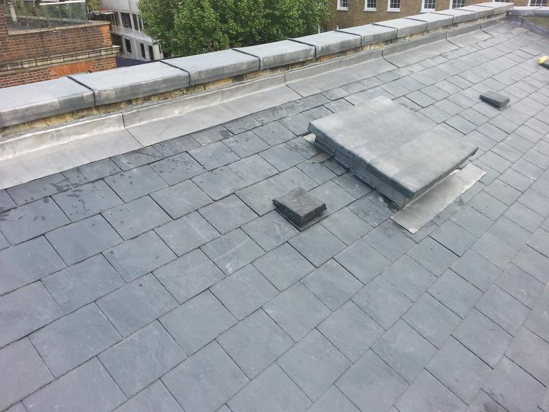 Image 25 - Slating & lead in Camberwell London