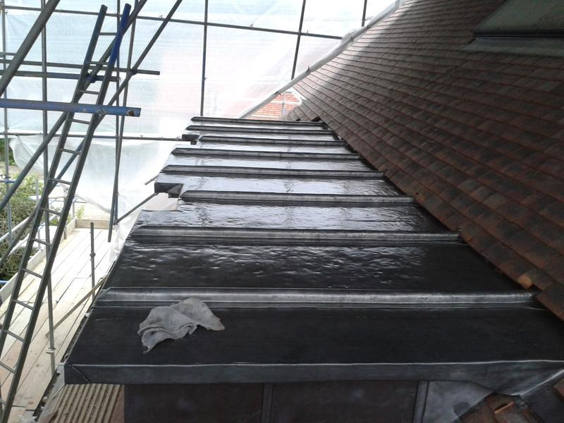 Image 22 - Lead roofing Golders Green London