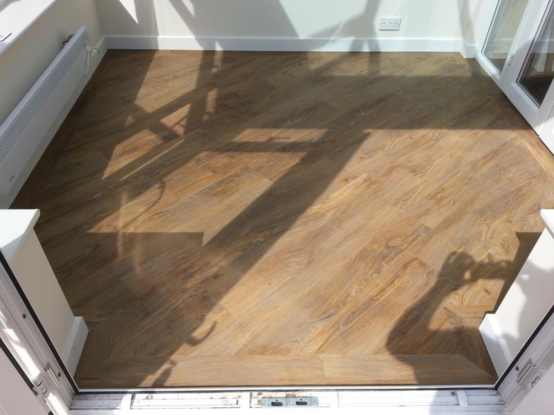 Image 38 - Luxury Vinyl flooring to conservatory
