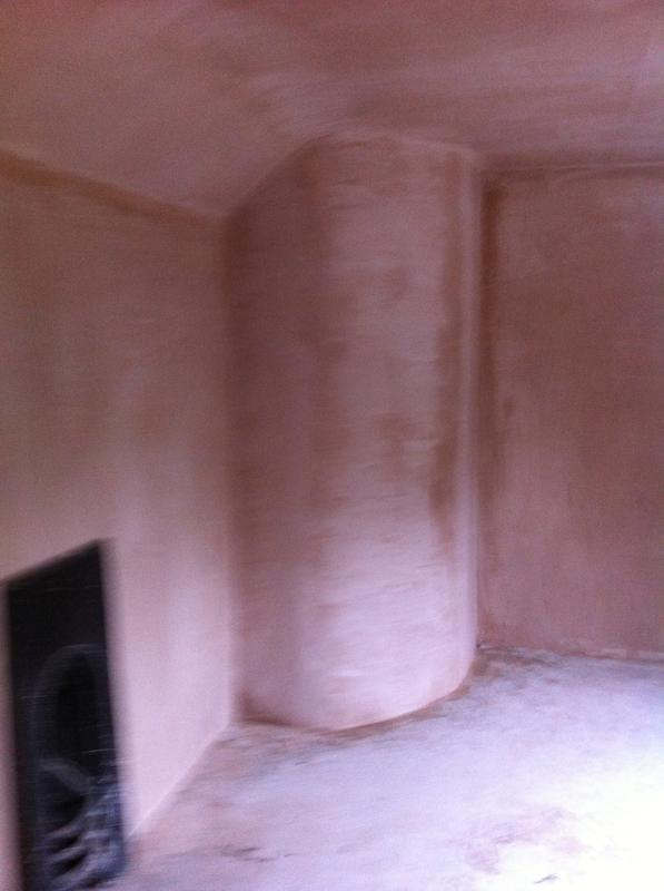 Image 13 - Country cottage curved walls plastering