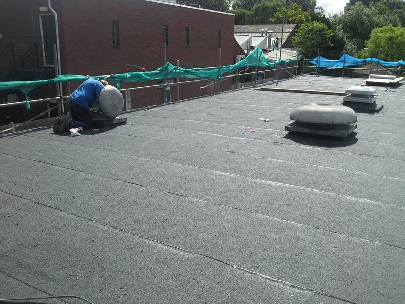 Image 15 - school kitchen roof,wimbledon