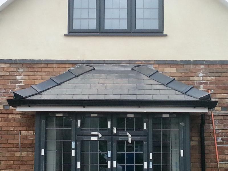 Image 47 - Porch roof St Albans Hertfordshire