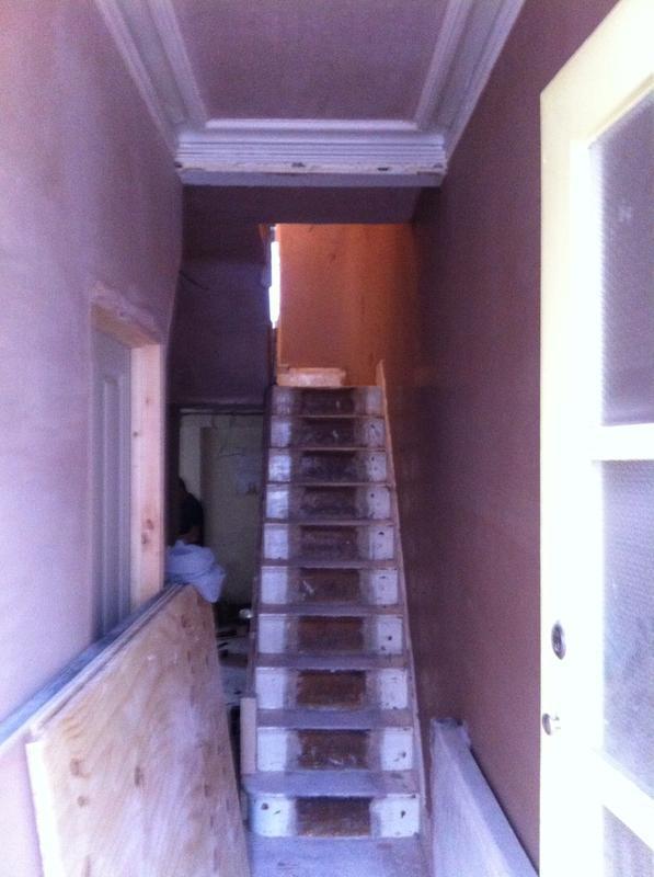 Image 19 - Twicknham house stairs landing full plastering