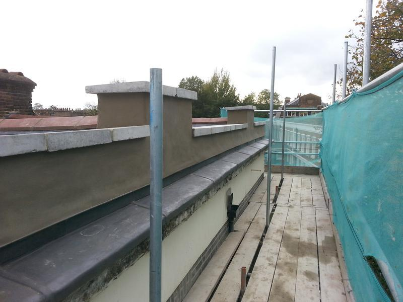 Image 35 - Cornice lead roofing new cross London