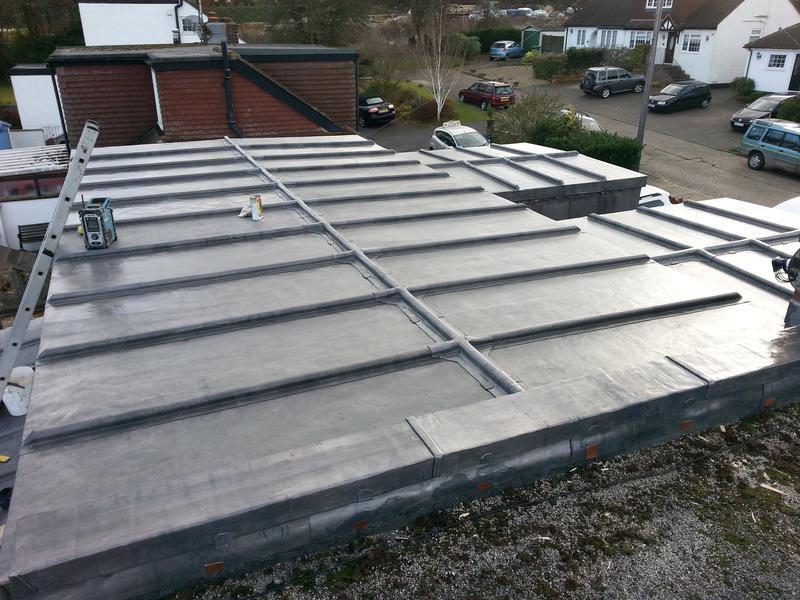 Image 25 - Lead roof Hemel hempstead