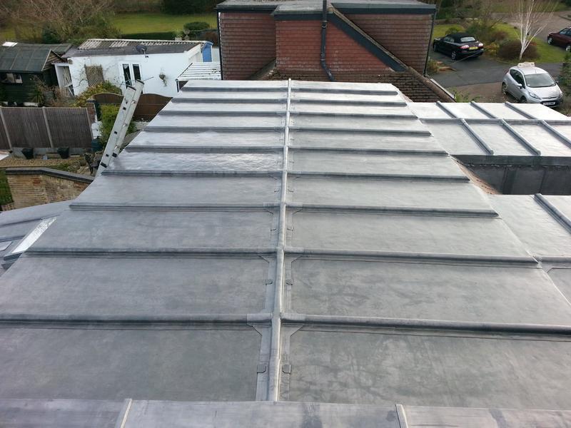 Image 22 - Lead roof complete Hemel hampstead
