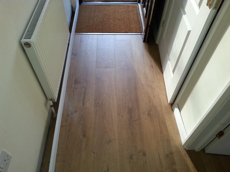 Image 55 - QS Laminate complete with new skirting