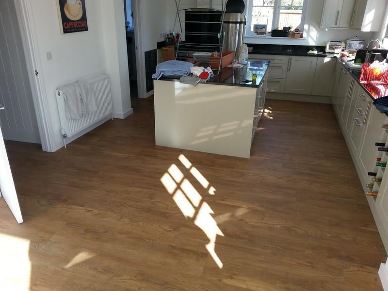 Image 16 - All done. Luxury Vinyl flooring.