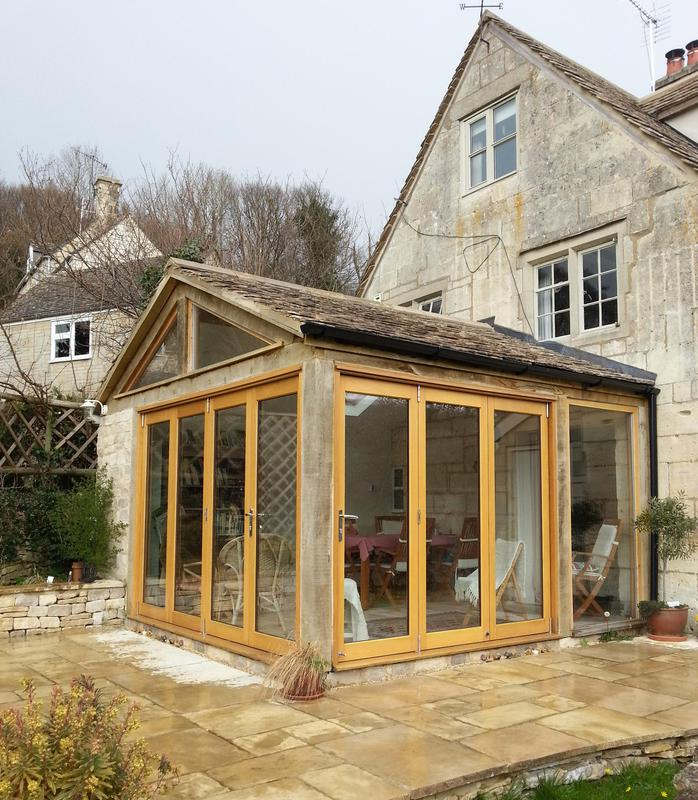 Image 18 - Oak timber frame extension