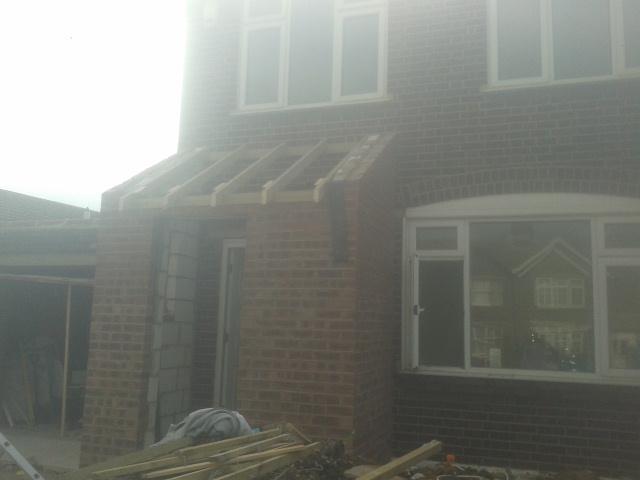Image 15 - New porch start