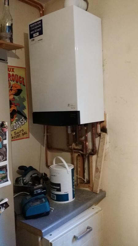 Image 30 - Another combi boiler fitted by us