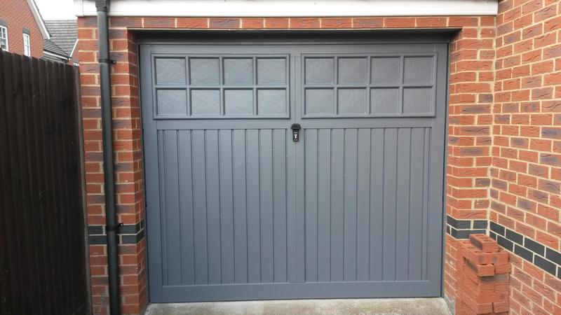 Image 73 - garage door refurbished Banstead