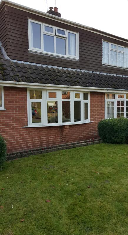 Image 34 - front bedroom window & five segment bay installed in bottesford