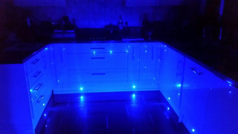Image 92 - New kitchen with underlighting