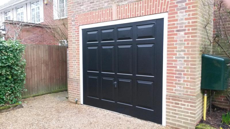 Image 80 - garage doors decorated walton on thames