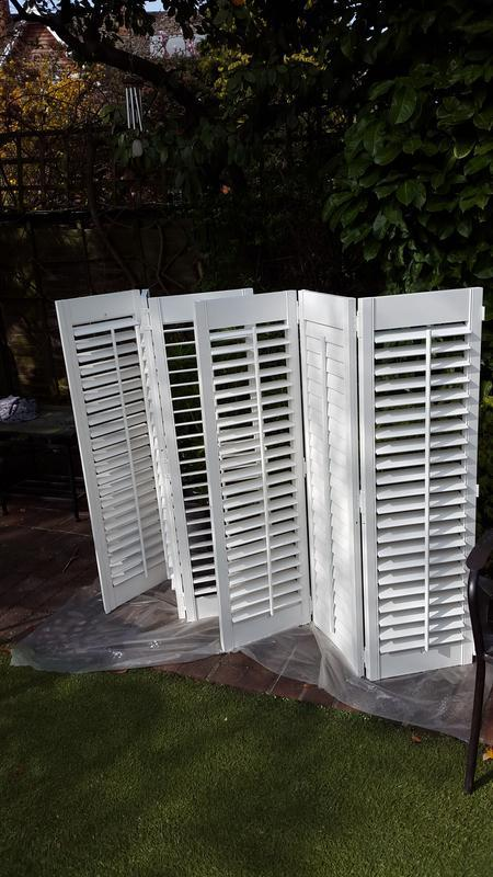 Image 69 - After: Window shutters spray painting