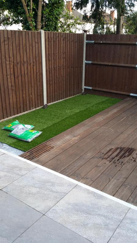 Image 33 - New garden fencing, decking and artificial grass supplied and fitted
