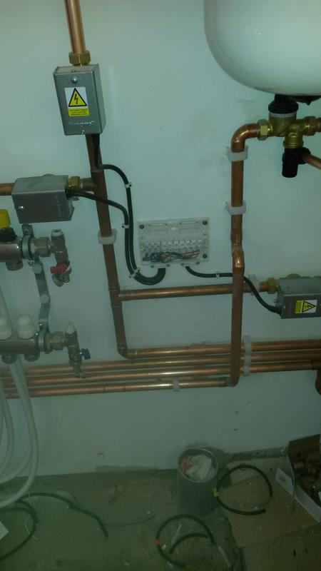 Image 2 - A multizone unvented system and boiler installed