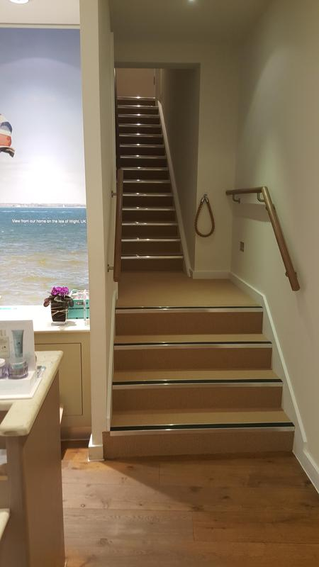Image 54 - Cormar - Avebury Carpet and Gradus Nosings supplied and fitted in Liz Earle Guildford