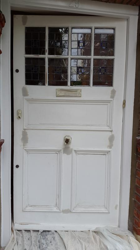 Image 80 - Before: Entrance door preparation