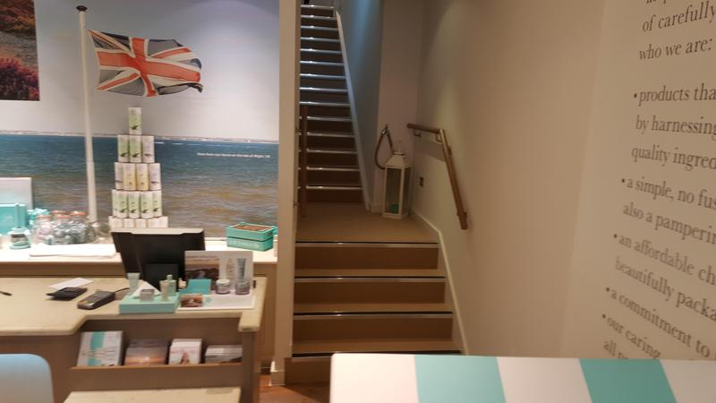 Image 55 - Cormar - Avebury Carpet and Gradus Nosings supplied and fitted in Liz Earle Guildford
