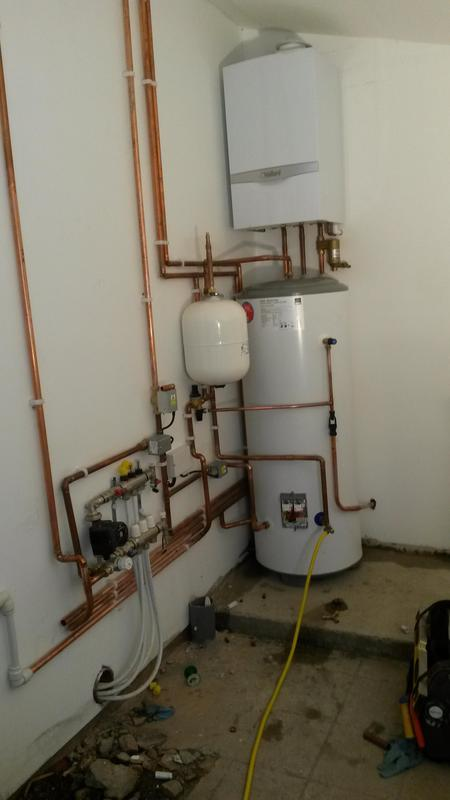 Image 1 - Unvented cylinder, Boiler and multiple zones installed