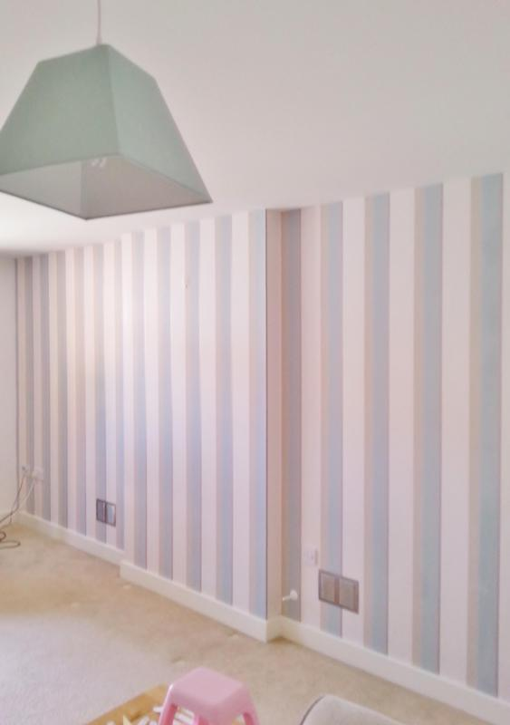 Image 9 - wallpapering bedroom