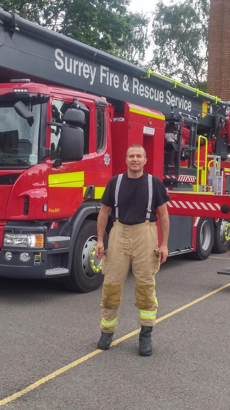 Image 2 - at the fire station
