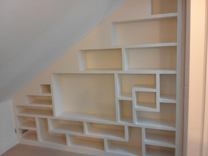 Image 131 - MDF Bookshelf painted in RH2