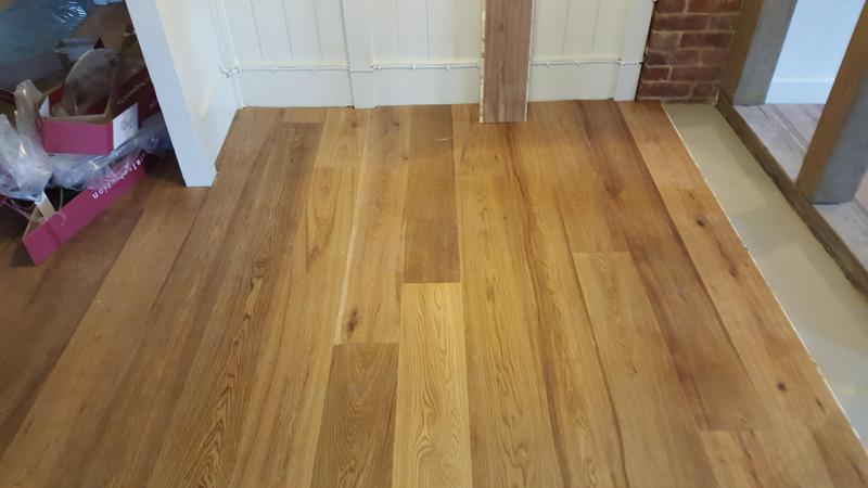 Image 19 - Kahrs Engineered wood flooring Supplied and fitted to The Grantley Arms Pub in Wonnersh
