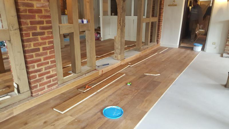 Image 21 - Kahrs Engineered wood flooring Supplied and fitted to The Grantley Arms Pub in Wonnersh