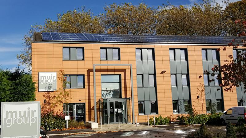 Image 2 - Muir Housing Group HQ - Commercial PV Installation