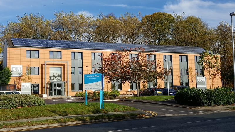 Image 1 - Muir Housing Group HQ - Commercial PV Installation
