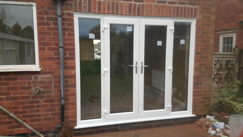Image 32 - french doors with fully welded side screens installed in newark