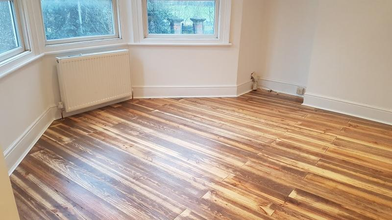 Image 29 - wooden floor in Southfields