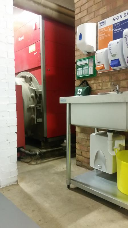 Image 30 - New plant room at a block of flats in Swiss Cottage London