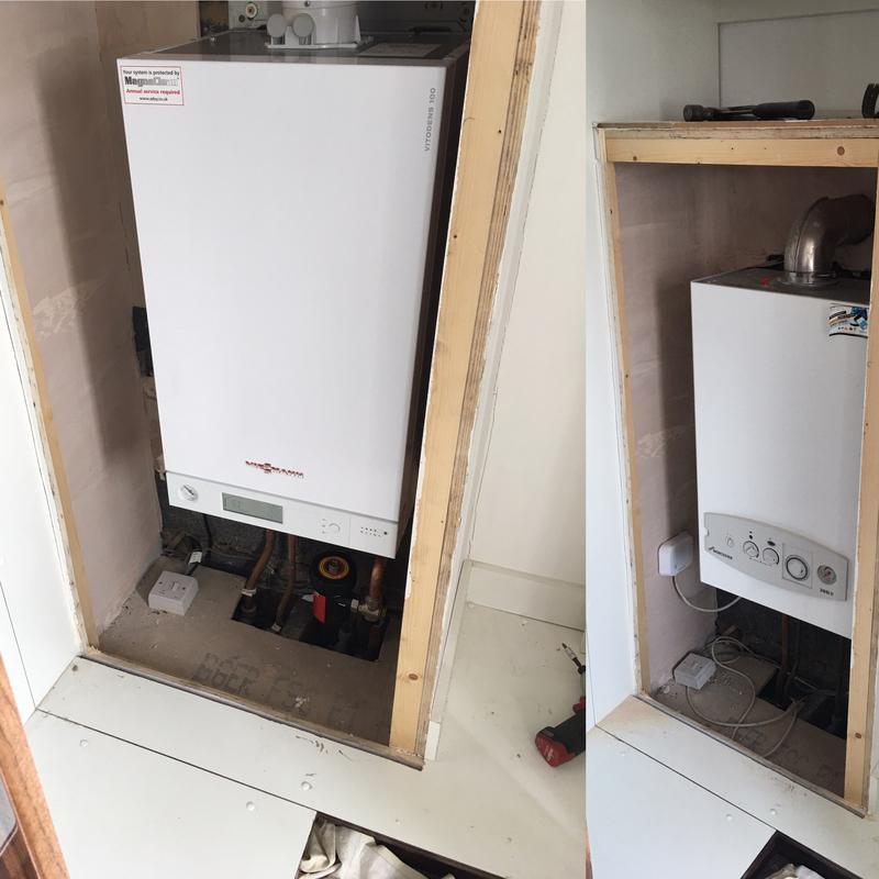 Image 25 - Boiler Swap