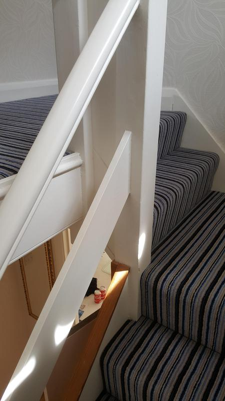 Image 67 - Westex Striped Carpet supplied and Fitted in Reading