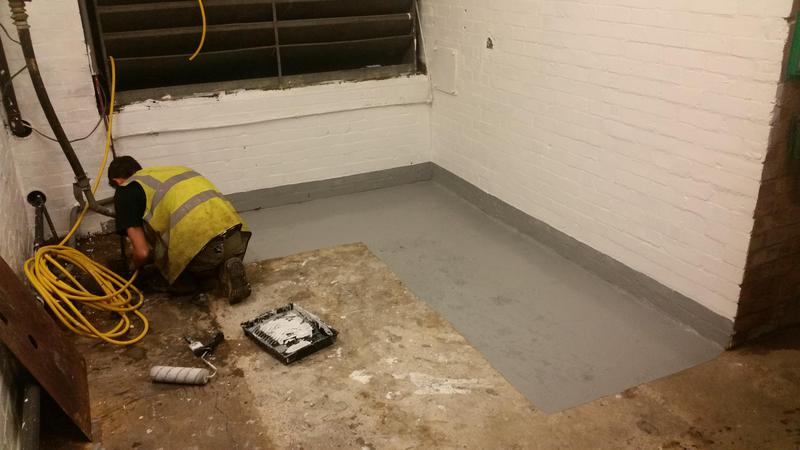 Image 18 - New plant room at a block of flats in Swiss Cottage London