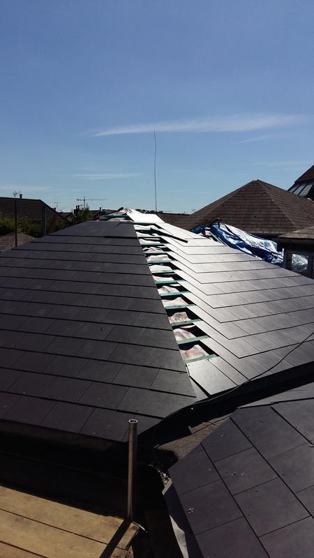 Image 2 - Slate roofs on a school